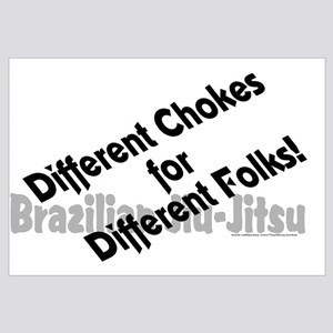 Different chokes for different folks!