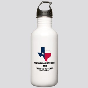 DAVY CROCKETT Stainless Water Bottle 1.0L