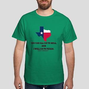 DAVY CROCKETT Dark T-Shirt