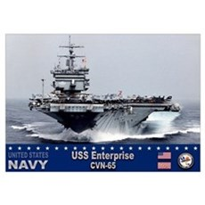 USS Enterprise CVN-65 Poster