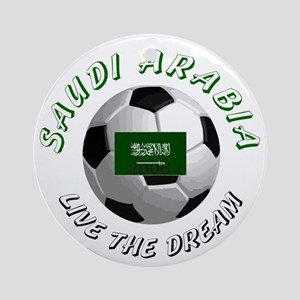 Saudi Arabia world cup Ornament (Round)