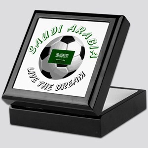 Saudi Arabia world cup Keepsake Box