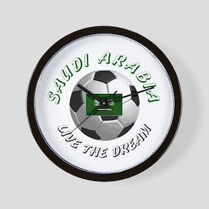 Saudi Arabia world cup Wall Clock