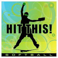 2011 Softball 96 Poster