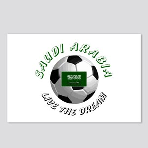 Saudi Arabia world cup Postcards (Package of 8)