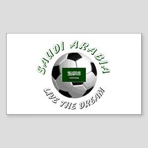 Saudi Arabia world cup Rectangle Sticker