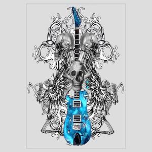 Praying Angel Skeleton Guitar