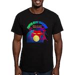 superbeat Men's Fitted T-Shirt (dark)