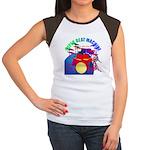 superbeat Women's Cap Sleeve T-Shirt