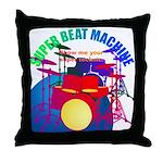 superbeat Throw Pillow