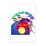 superbeat Mini Poster Print