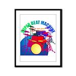 superbeat Framed Panel Print