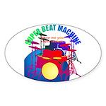 superbeat Sticker (Oval)