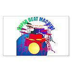 superbeat Sticker (Rectangle 50 pk)