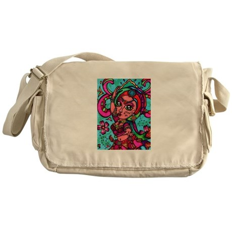 Tribal Dancer Messenger Bag