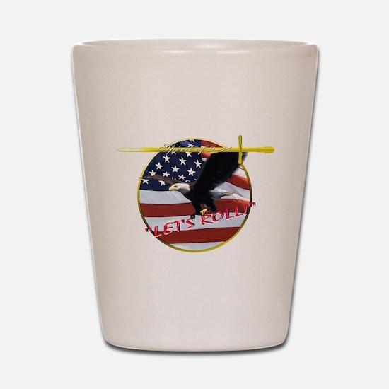 9-11 Shot Glass