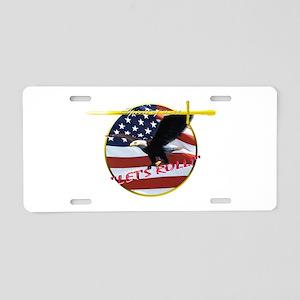 9-11 Aluminum License Plate