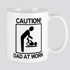 Caution! Dad at Work! Baby Di Mug