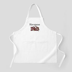 Havanese Dad BBQ Apron