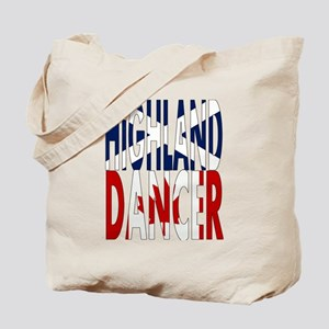 Highland Dancer - Canada Tote Bag