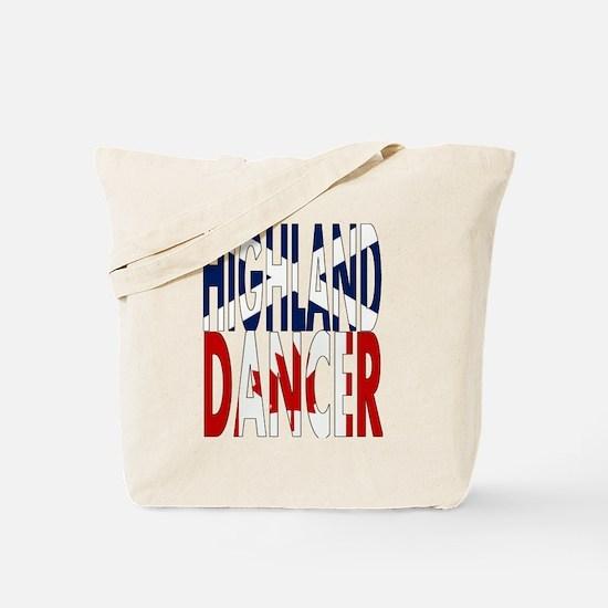 Highland Dancer - Canada Tote Bag