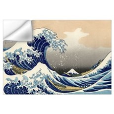 Kanagawa The Great Wave Wall Decal