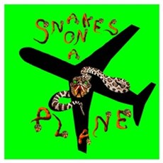 Snakes on a Plane - Now Boarding Poster