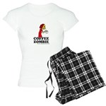 Coffee Zombie Women's Light Pajamas