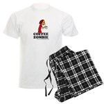 Coffee Zombie Men's Light Pajamas