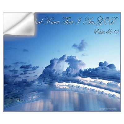 Psalm 46:10 Be Still Wall Decal
