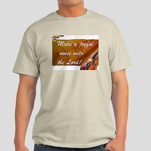 Joyful Violin Ash Grey T-Shirt