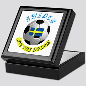 Sweden world cup Keepsake Box