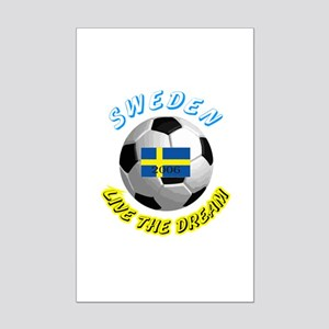 Sweden world cup Mini Poster Print