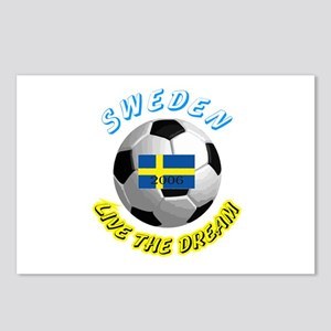 Sweden world cup Postcards (Package of 8)