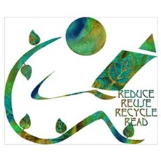 Four Rs Green Reader Poster