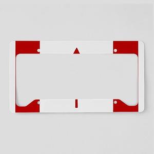 Maple Leap License Plate Holder