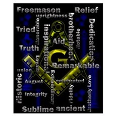 What is Freemasonry Framed Print