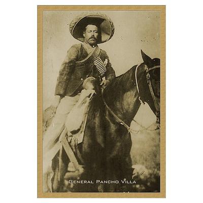 Pancho Villa Print Poster
