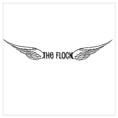 The Flock Canvas Art