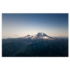 Three Peaks of Washington Poster