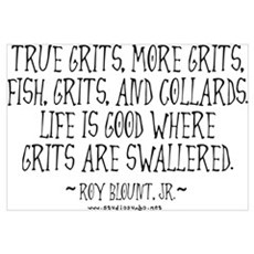 Grits Swallered Canvas Art
