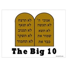 The Big 10 Framed Print