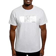 C. elegans Lineage Ash Grey T-Shirt