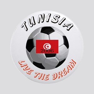 Tunisia world cup Ornament (Round)