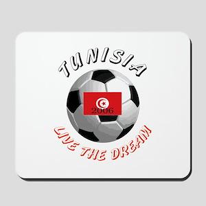 Tunisia world cup Mousepad