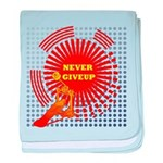 never giveup baby blanket