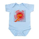 never giveup Infant Bodysuit