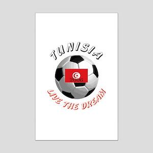Tunisia world cup Mini Poster Print