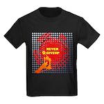 never giveup Kids Dark T-Shirt