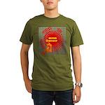never giveup Organic Men's T-Shirt (dark)